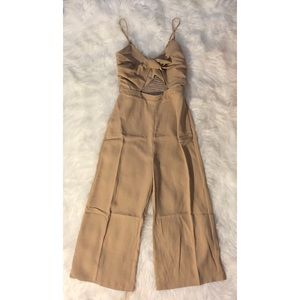 Sabo Skirt Pants - Jumpsuit/Romper/Playsuit - Beige
